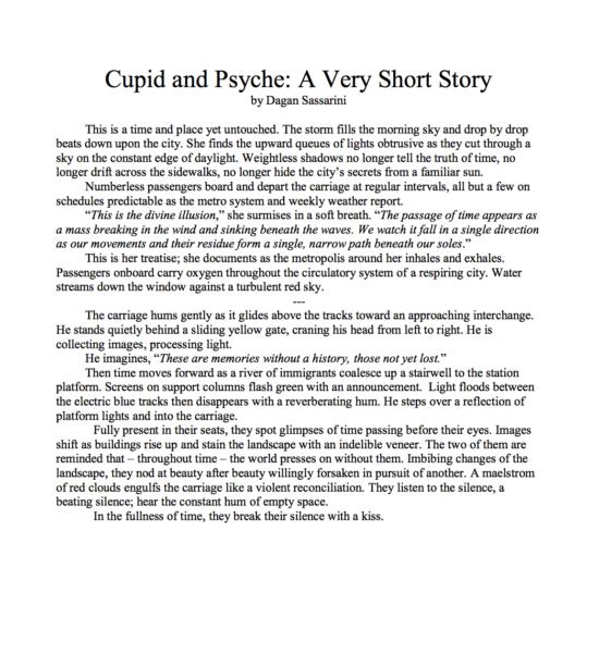 a Psyche short story