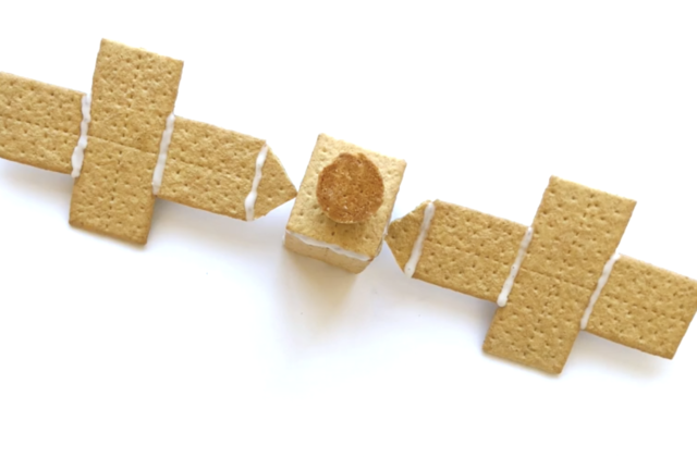 Graham cracker psyche spacecraft.
