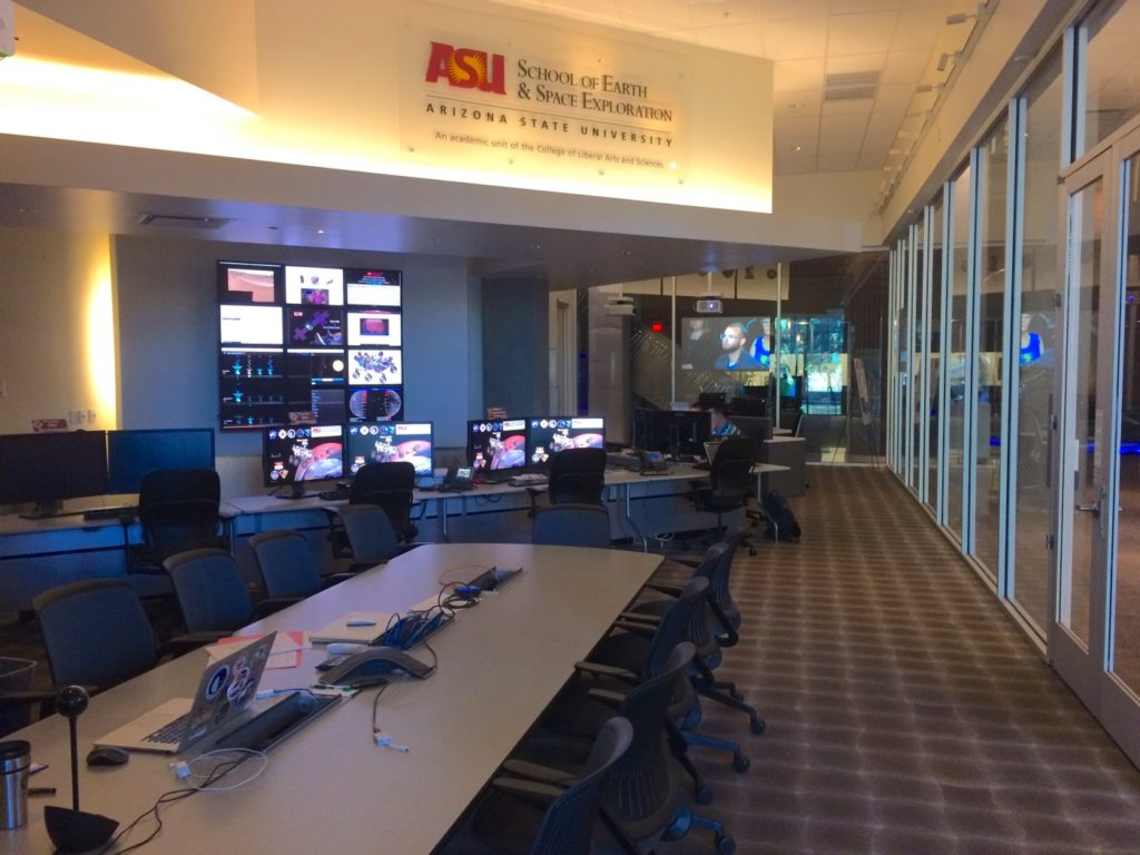 Image of the Science Data Center, located at Arizona State University.