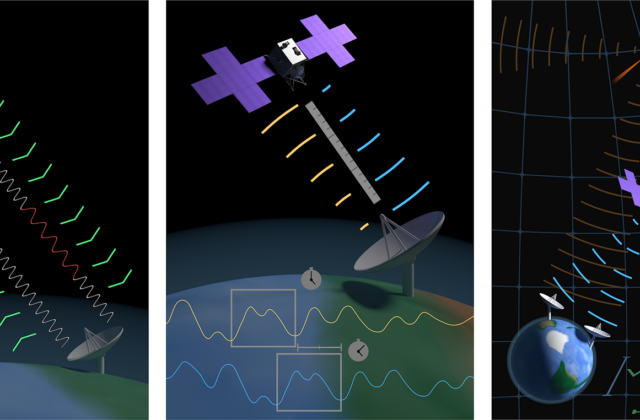 """""""Navigation Data Types Triptych"""", digital media, by Ben Conway"""